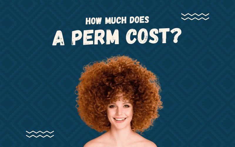 Image Title How Much Does a Perm Cost with a woman with poofy curly hair smiling big
