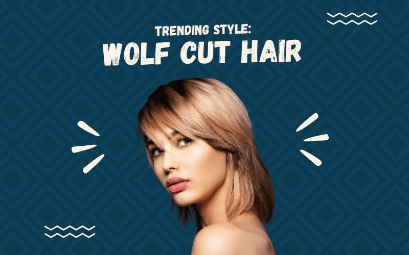 Image titled Trending Style Wolf Cut Hair featuring someone with the cut on a blue background