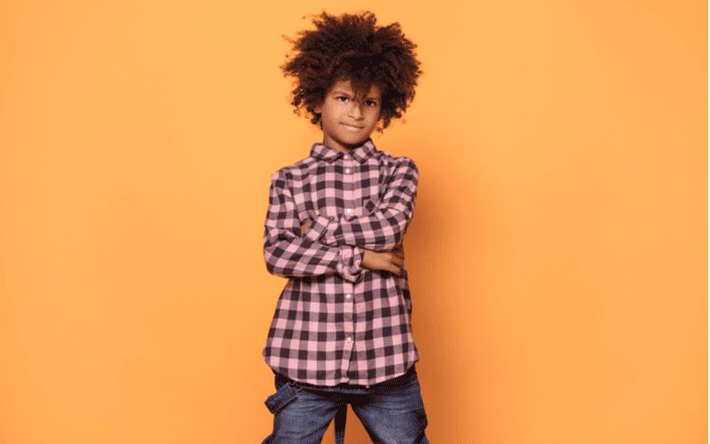 Tapered Afro, a featured style in a piece on boys haircuts