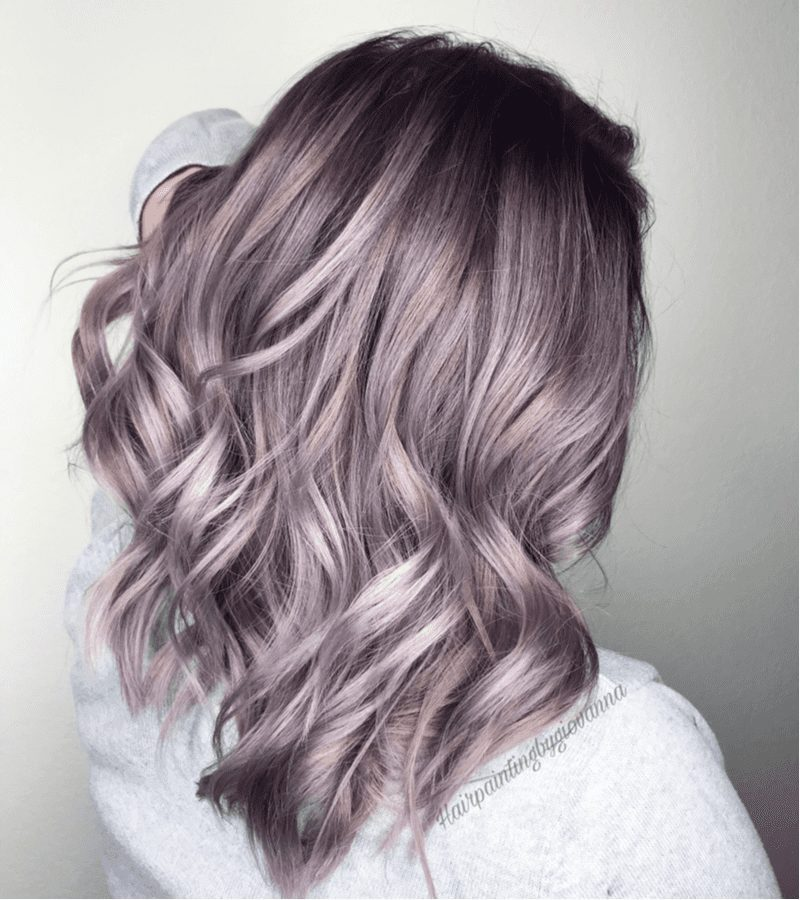 Blended Midi Lilac Layers