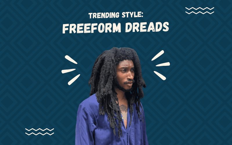 Image titled Trending Style Freeform Dreads featuring a man wearing this style of hair