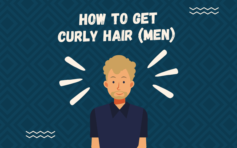 Image titled how to get curly hair for men featuring a guy with this hairstyle