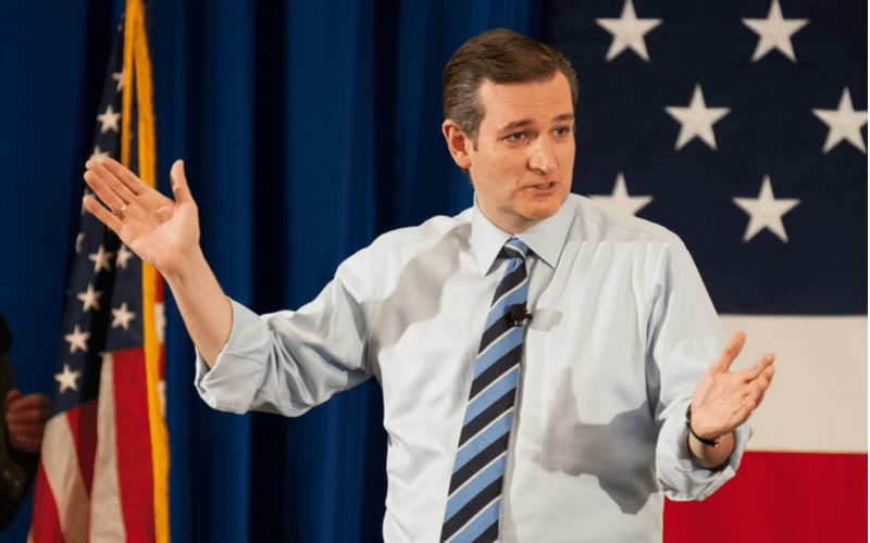 The ted cruz haircut before he decided to rock a mullet